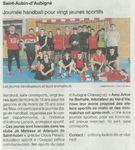 Hand: journée pour 20 jeunes sportifs