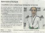 Judo- Lola Letourneau remporte le bronze